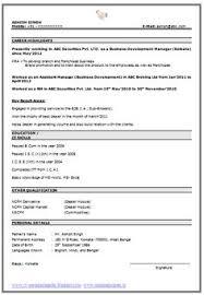 Best Resume Format Sample Perfect Job Resume Format A Perfect Resume Professional Resume 98