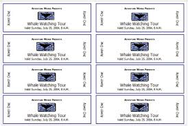 Create Tickets In Word How To Create Tickets Magdalene Project Org