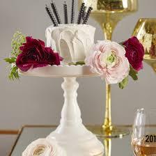 Decorative Cake Stands Rosanna Decor Bon Bon Round Cake Stand Reviews Wayfair