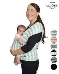 Baby Wrap Carrier ( Teal & White ) | Baby Wrap 4 in 1| By Lil' One ...