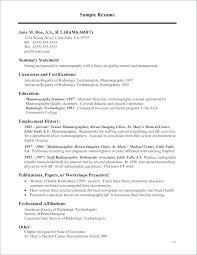 med tech resume sample sample resume radiologic technologist sample x ray tech resume rad