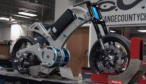 orange county choppers designs an all electric bike using fusion