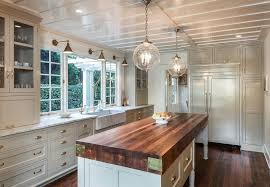 cottage kitchen with milgard windows remains lighting sorenson 14 lantern farmhouse sink pendant