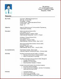 Make Own Resume Resume Ideas