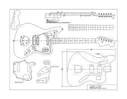 planos fender jaguar pastrana guitars fender jajuar esquema jpg