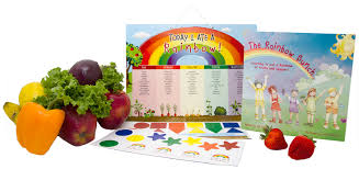 Today I Ate A Rainbow Food Chart With A Giveaway
