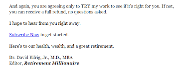 call to action examples and rules for effective ctas retirement millionaire