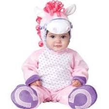 InCharacter Baby Girlu0027s Pretty Pony, Pink/White, Small Girl Costumes, Baby  Animal