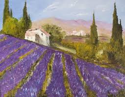 the story behind art provence lavender