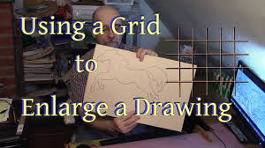 How To Enlarge A Design Using A Grid To Enlarge A Drawing