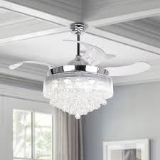 Cool white ceiling fans Dimmable House Of Hampton 43 Alibaba House Of Hampton 43
