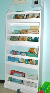 then children can put their own books away also flat bookshelves take up less floor space a bonus for often tiny secondary bedrooms