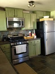 Kitchen Cabinets Refrigerator 3alhkecom A Small Lighting In Kitchen With Green Kitchen Cabinets