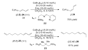 advances in olefin isomerization reactions catalyzed by the first  scheme 14