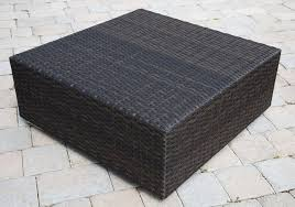 source outdoor manhattan wicker coffee table