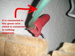 unused wire from wall unused wire from wall