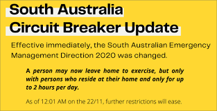 New south wales and the act is a red zone. South Australia Covid 19 News Case Updates And Discussion 21 November 2020 Coronavirusdownunder