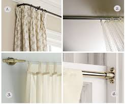 ceiling mount curved shower curtain rod rods you mounted walnut curtain rod