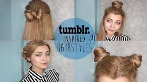 Braids Hairstyles Tumblr 1 2 Tumblr Inspired Hairstyles 3 4 Youtube