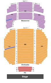 Fred Kavli Theatre Detailed Seating Chart Jim Jefferies Tickets Stand Up Rad Tickets