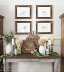 how to decorate a big blank wall