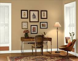 wall colors for office. Classic Home Office! Wall Color: Tyler Taupe - Trim \u0026 Accent Cloud White Warmed Cognac Colors For Office