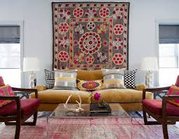 carpet as a wall decor idea on wall decor for traditional living room with non traditional wall d cor ideas to make a bold statement