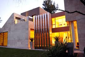 fantastic modern house lighting. fantastic modern argentinian home facade by casa st56 in buenos aires with hardwood flooring grey house lighting i