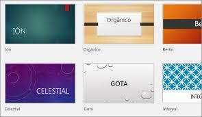 Agregar Color Y Diseño A Las Diapositivas Con Temas Powerpoint