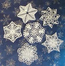 87 best crocheted snowflakes patterns images