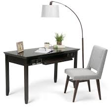 desk tables home office. Amherst Dark Brown Desk With Storage Tables Home Office R