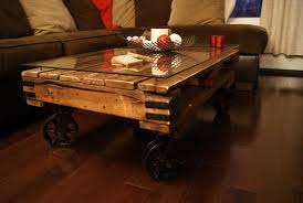 The Best 20 Diy Pallet Coffee Table Projects For Your Living Room Pallet Coffee Table On Wheels