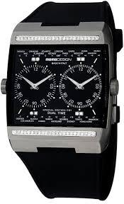 Momo Design Titanium Watch Momo Design Dual Time Gmt Mens Watch Model Md077 D01bk Rb