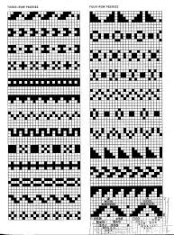 Fair Isle Knitting Charts Navajo Quaking Blog