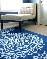 navy kitchen rug solid blue rugs