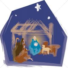 nativity stable clipart. Perfect Nativity Nativity Scene With Stable Animals To Clipart C