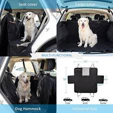 new dog car seat cover view mesh