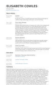 caterer resume samples visualcv resume samples database .