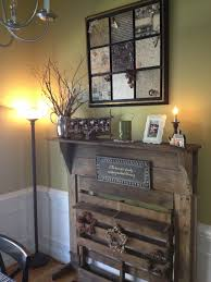 old fireplace mantle and old pallet decoupage picture from sbook paper and vintage ons keys ribbon etc for the home old fireplace