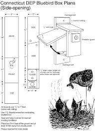 side opening nest box plans