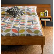 orla kiely house scribble multi stem double duvet cover
