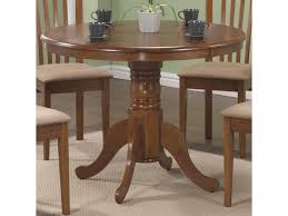 Coaster Brannan Round Single Pedestal Dining Table Sadlers Home