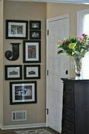 creating an entry-way or picture frame idea for a small wall