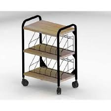 Medical Chart Carts With Vertical Racks First Healthcare Products 631012 Mckesson Medical Surgical