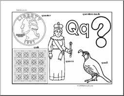 letter puzzle q bw guide p