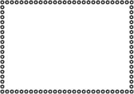 夏の花の飾り枠01 松葉ボタン 花の無料イラスト素材 イラストポップ