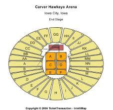 Hawkeye Football Seating Chart Carver Hawkeye Arena Tickets And Carver Hawkeye Arena
