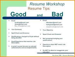 Examples Of Bad Resumes Template Mesmerizing Resume Samples Pdf Mkma