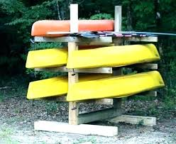 kayak storage ideas kayak storage racks ideas canoe and rack outdoor decorating cookies with royal icing kayak storage