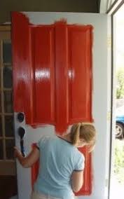 how to paint your front doorRepinning this because I used this tutorial to paint my front
